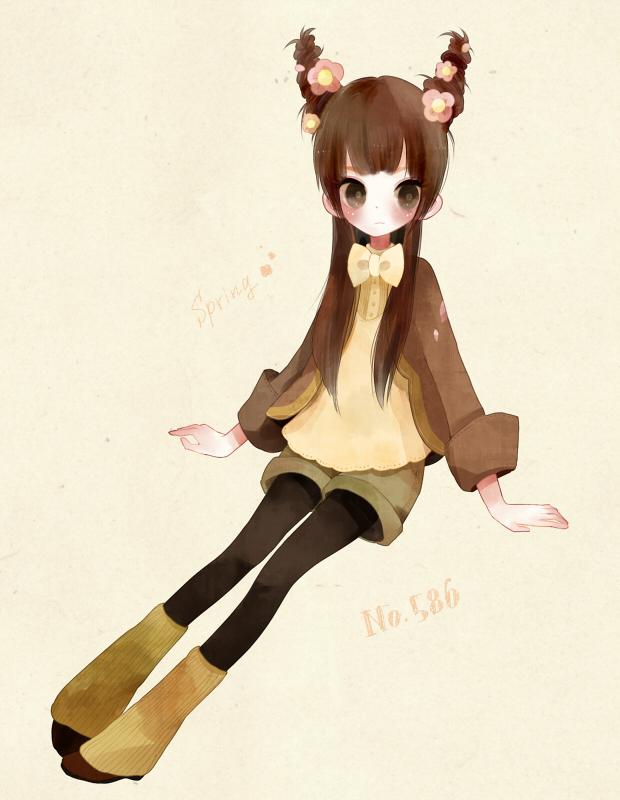 Tags: Anime, Poco24, Pokémon, Sawsbuck, Spring, Pixiv