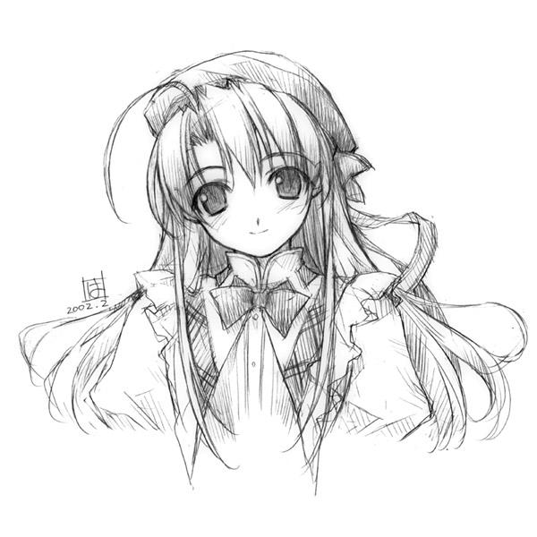 Tags: Anime, Pia Carrot, Sayaka Takai, Pencil (Medium)