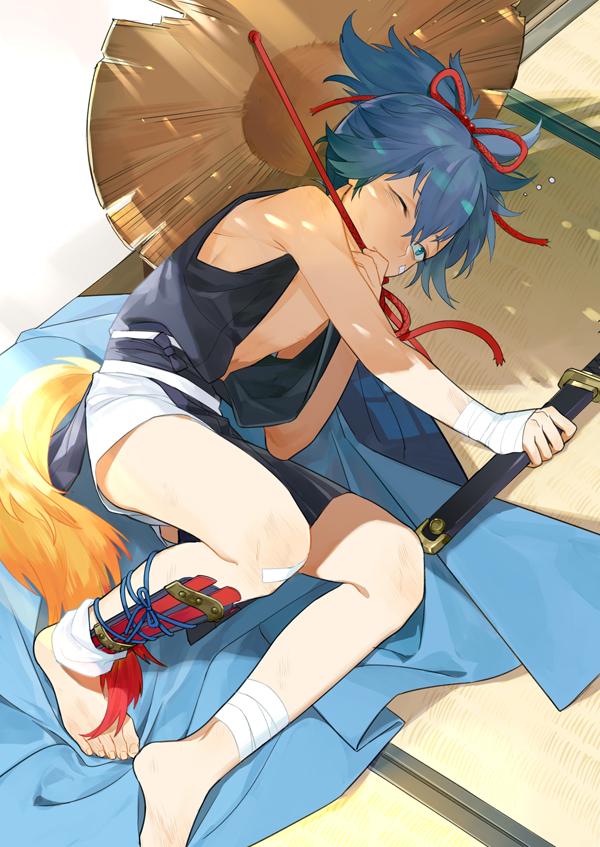 Tags: Anime, Inkerpape, Touken Ranbu, Sayo Samonji, PNG Conversion, Mobile Wallpaper, Pixiv