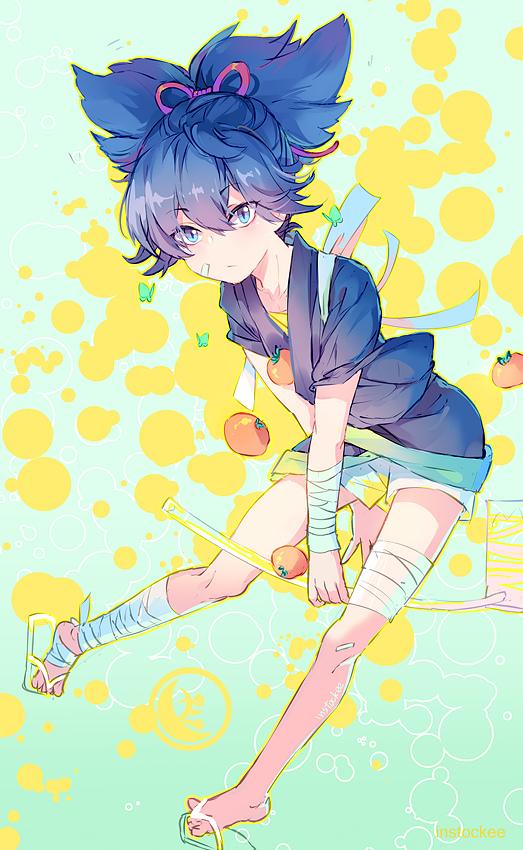 Tags: Anime, INstockee, Touken Ranbu, Sayo Samonji, Kimono Shirt, PNG Conversion, Mobile Wallpaper, Fanart