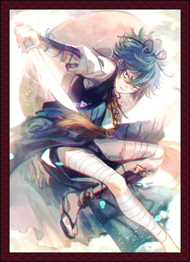 Tags: Anime, Pixiv Id 211376, Touken Ranbu, Sayo Samonji, Mobile Wallpaper, PNG Conversion