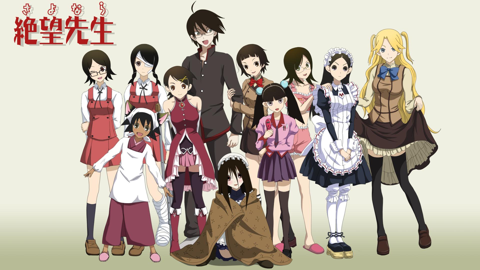Kết quả hình ảnh cho Zan Sayonara Zetsubou Sensei anime