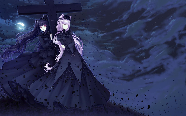 Neko Paradise Wallpaper Zerochan Anime Image Board