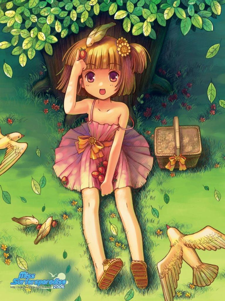 Аниме картинки детей девочек