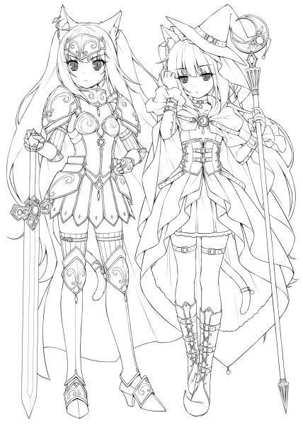 Zerochan Lineart : Sayori mobile wallpaper  zerochan anime image board