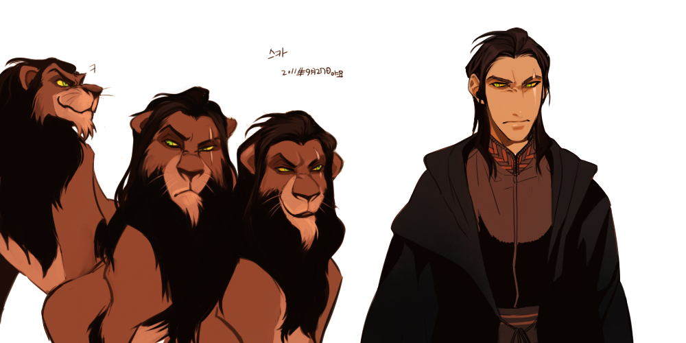 Scar Lion King Human Female