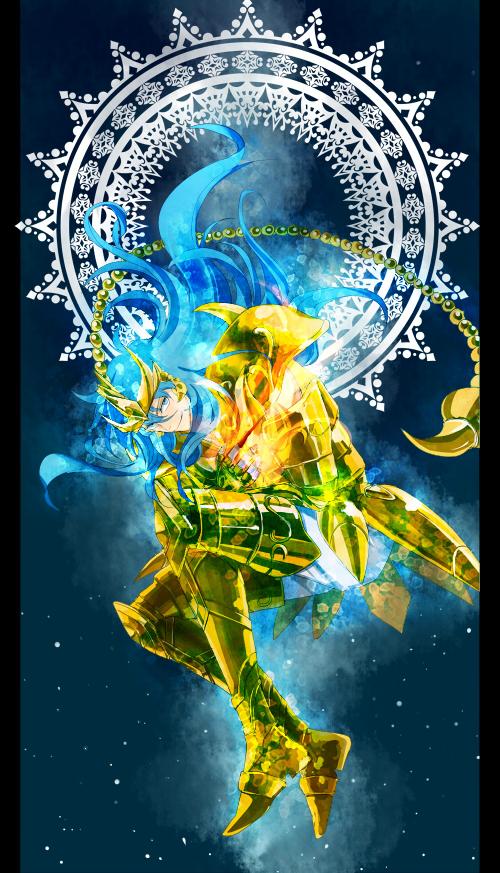 Tags: Anime, Pixiv Id 671862, Saint Seiya Lost Canvas, Scorpio Kardia, Scorpion Tail, Pixiv, Fanart, Mobile Wallpaper, Gold Saints -the Lost Canvas