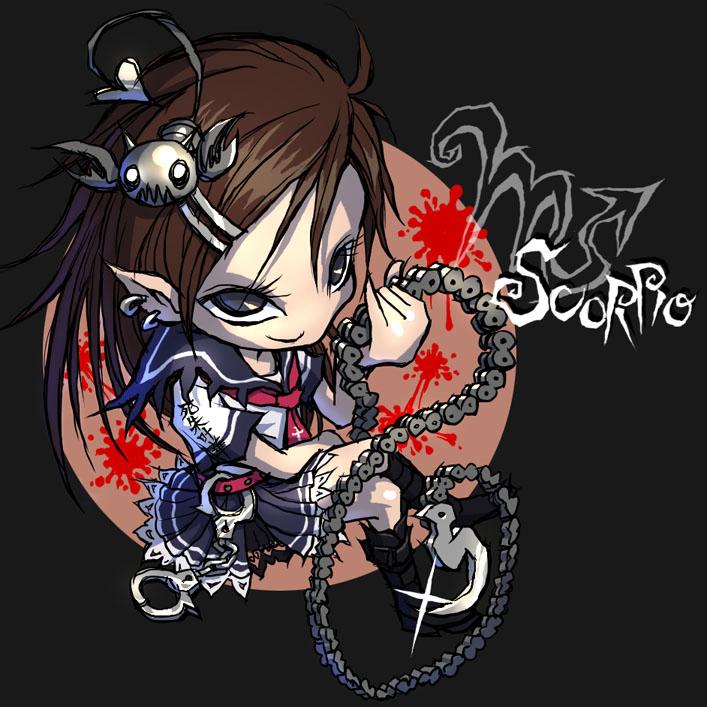 Scorpio - Zodiac - Image #547090 - Zerochan Anime Image Board
