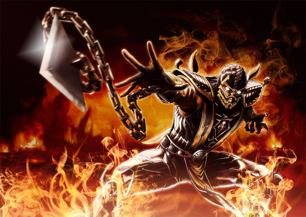 mortal kombat 9 ermac wallpaper