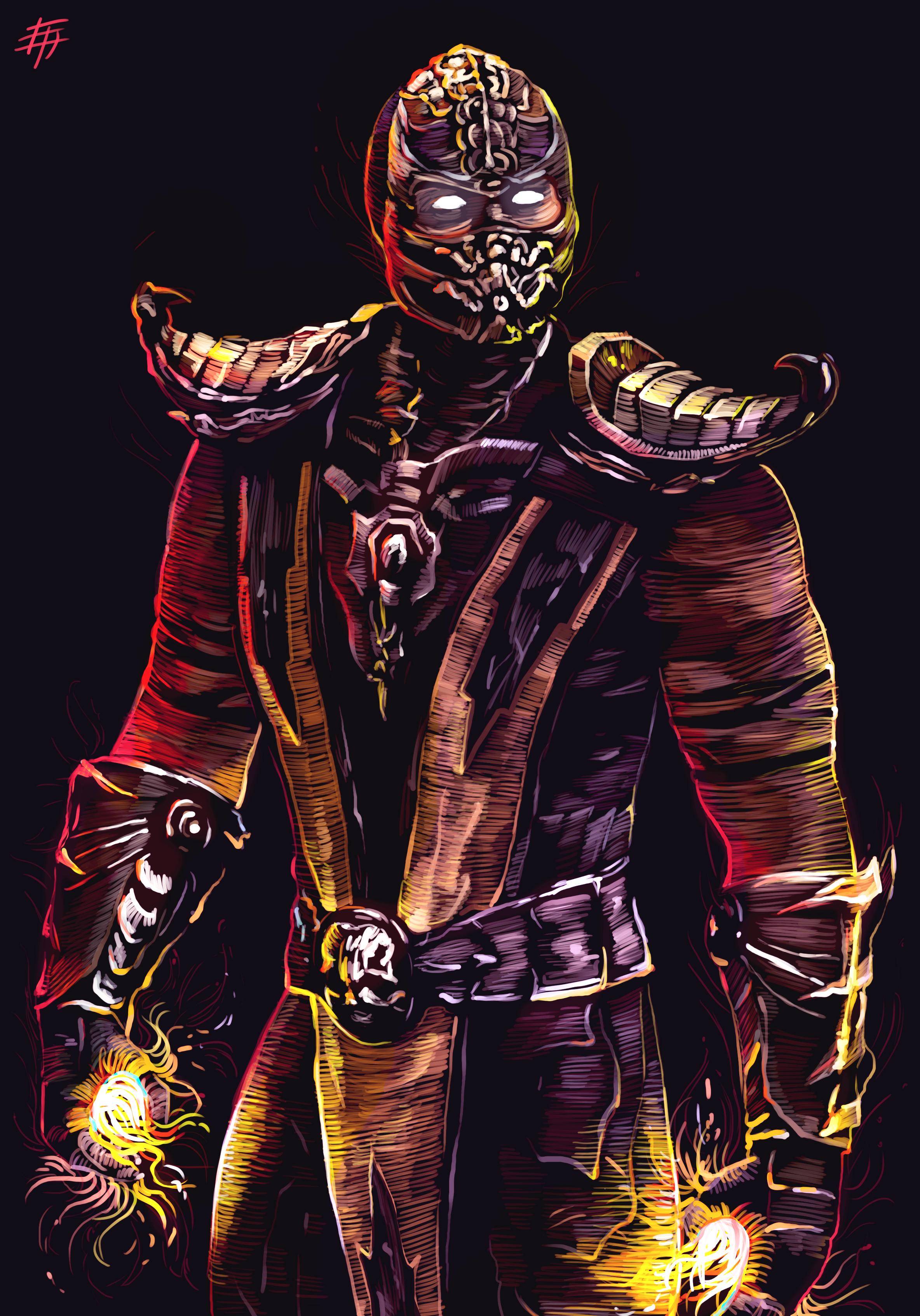 Scorpion Mortal Kombat Image 2579710 Zerochan Anime Image Board
