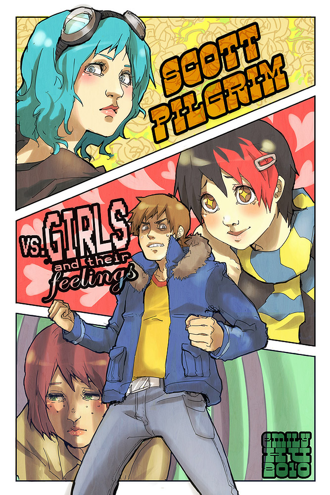 Ramona Flowers Scott Pilgrim Vs The World Zerochan Anime Image