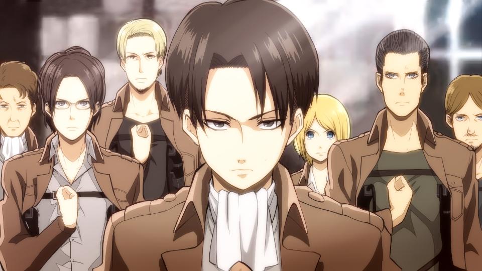 Scouting Legion Attack On Titan Zerochan Anime Image Board