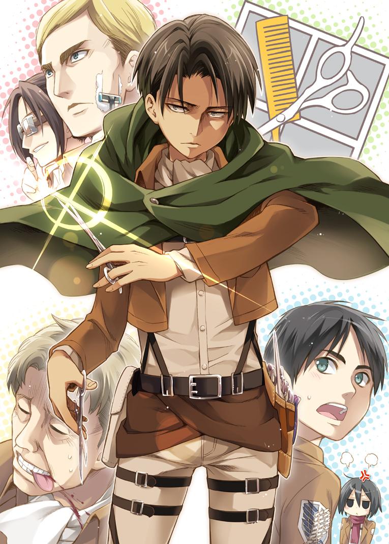 Scouting Legion Attack On Titan Mobile Wallpaper 1559596 Zerochan Anime Image Board