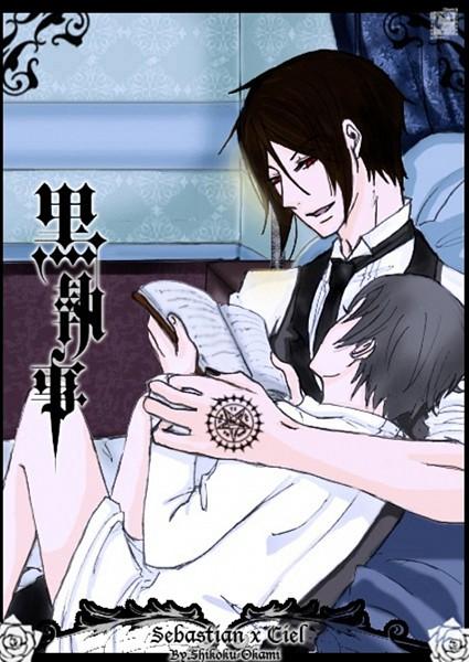 Tags: Anime, Kuroshitsuji, Ciel Phantomhive, Sebastian Michaelis, Aristocrat, Butler