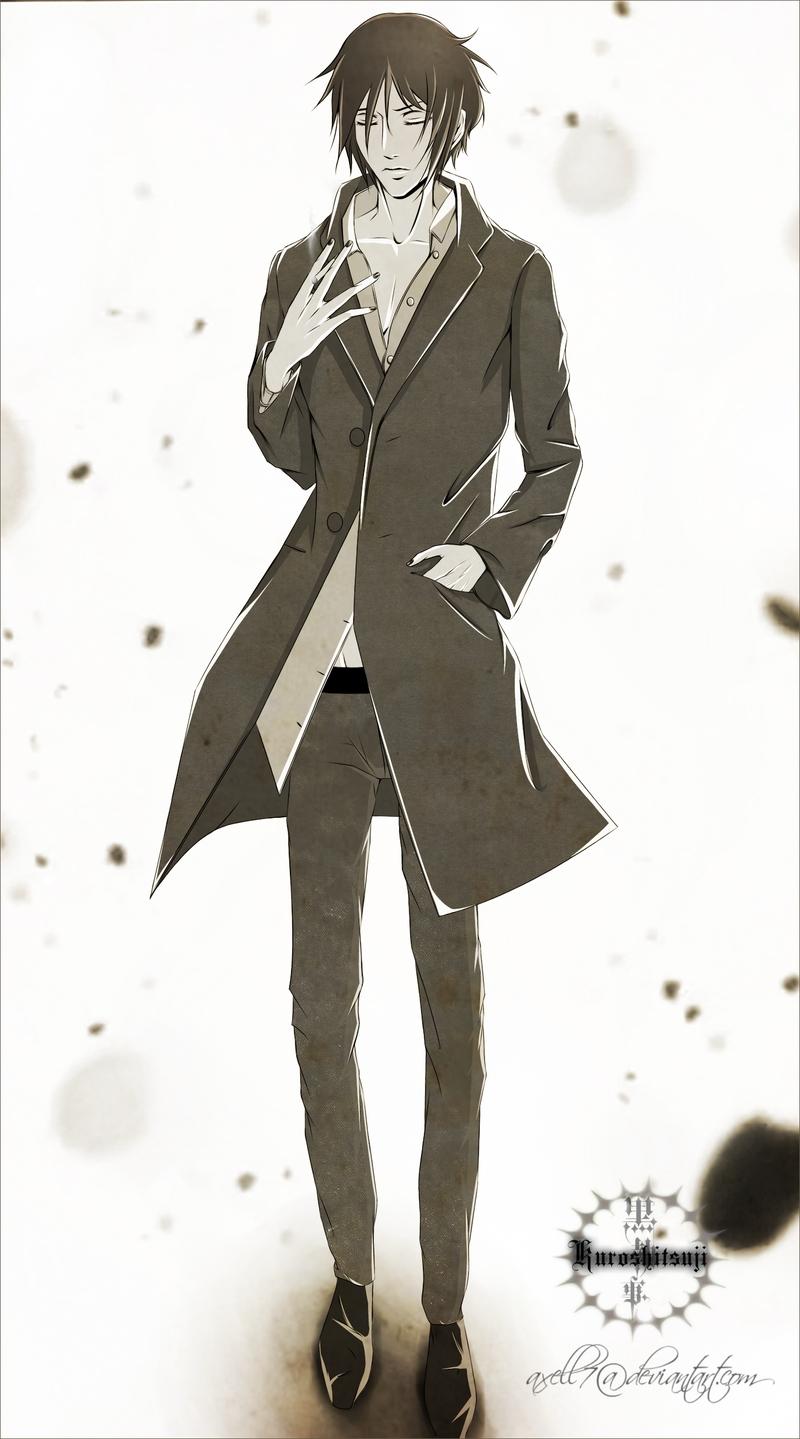 Sebastian michaelis kuroshitsuji mobile wallpaper 1184656 zerochan anime image board - Mobel michaelis ...