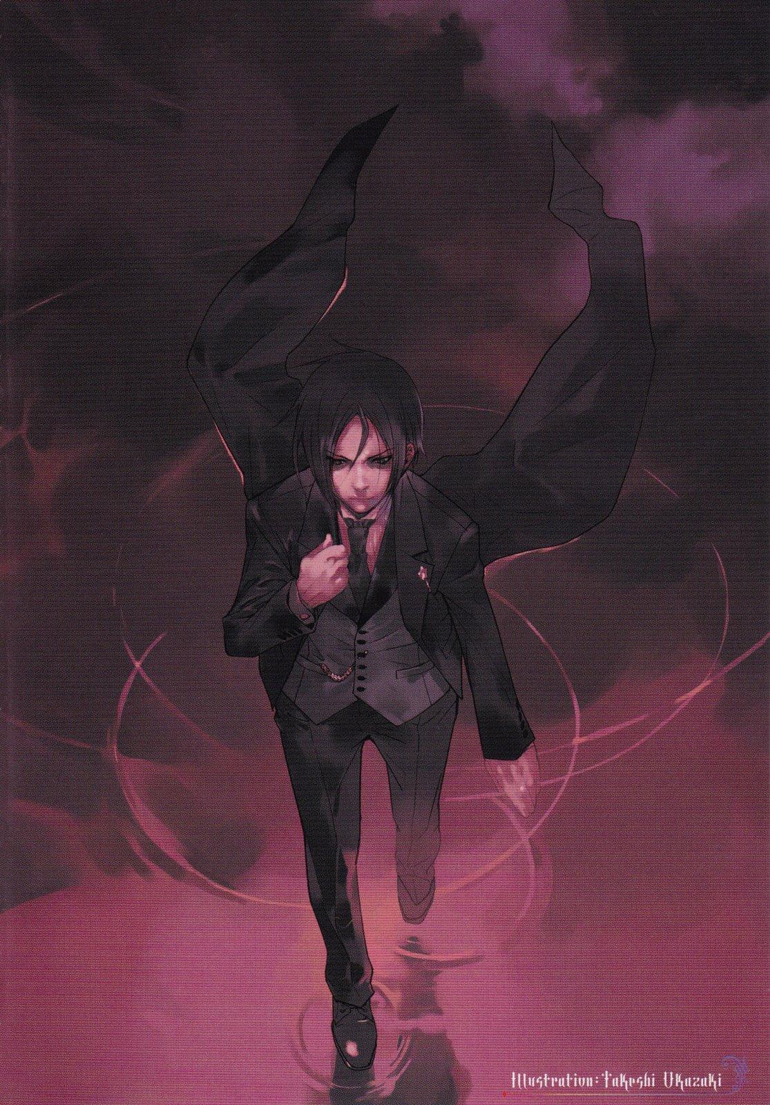 Sebastian michaelis kuroshitsuji mobile wallpaper 140903 zerochan anime image board - Mobel michaelis ...