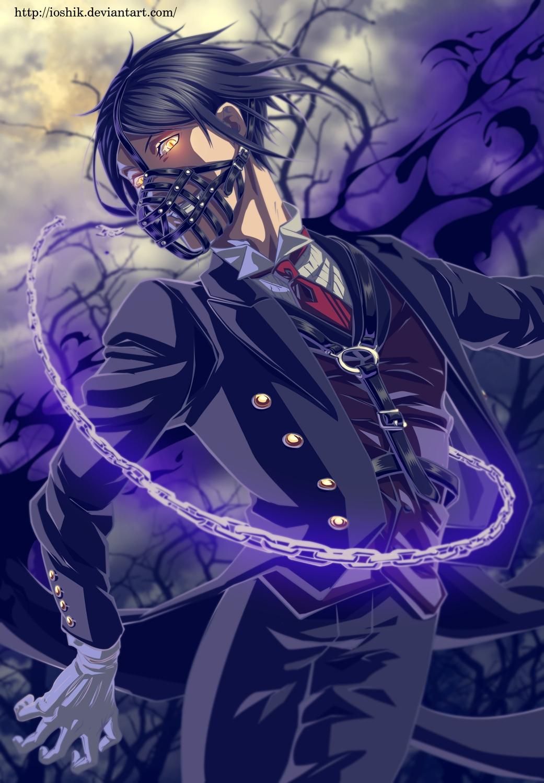 Sebastian michaelis kuroshitsuji mobile wallpaper 1801944 zerochan anime image board - Mobel michaelis ...