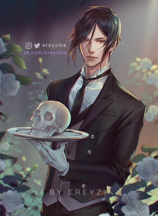 Tags: Anime, Ereyz, Kuroshitsuji, Sebastian Michaelis