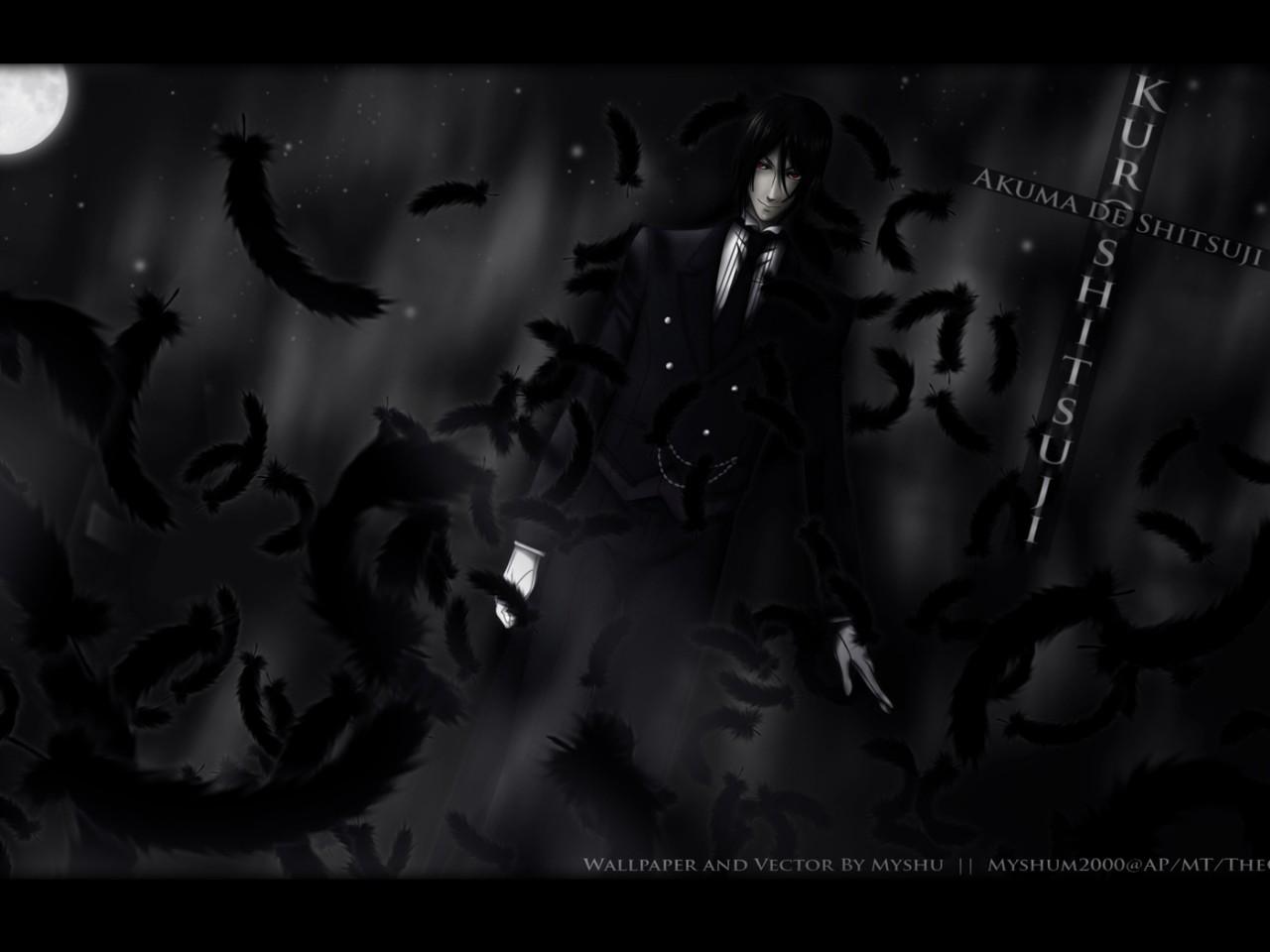 Tags Anime Kuroshitsuji Sebastian Michaelis 985x615 Wallpaper Spring