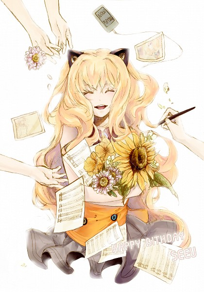 Tags: Anime, Vocaloid, SeeU, Koem