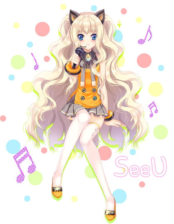 Tags: Anime, Ratise, VOCALOID, SeeU