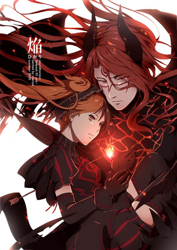 Tags: Anime, Maamayoru, Shaytan (Sound Horizon), Layla (Sound Horizon), Seisei No Iberia, Mobile Wallpaper, Seisen no Iberia, Sound Horizon