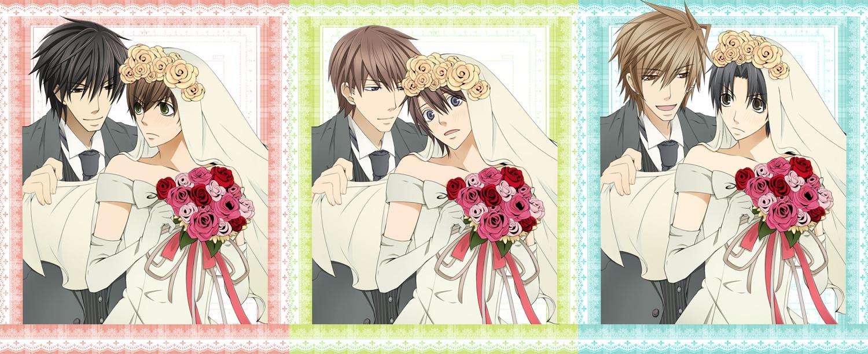 N and touko wedding - World S First Love Download Sekai Ichi Hatsukoi Image