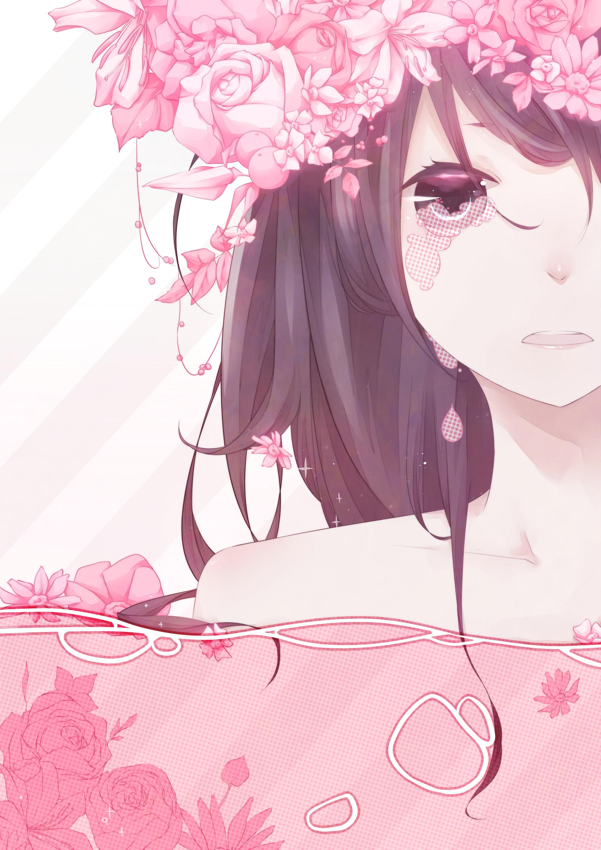Рыдающие девушки аниме 12 фотография