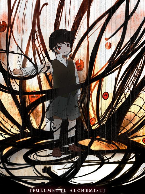 Tags: Anime, Fullmetal Alchemist Brotherhood, Fullmetal Alchemist, Selim Bradley, Pride (FMA), Homunculi