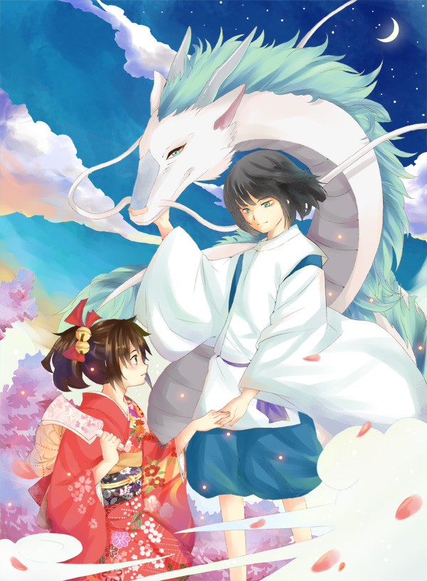 Anime Characters Pregnant Reader : Sen to chihiro no kamikakushi spirited away image