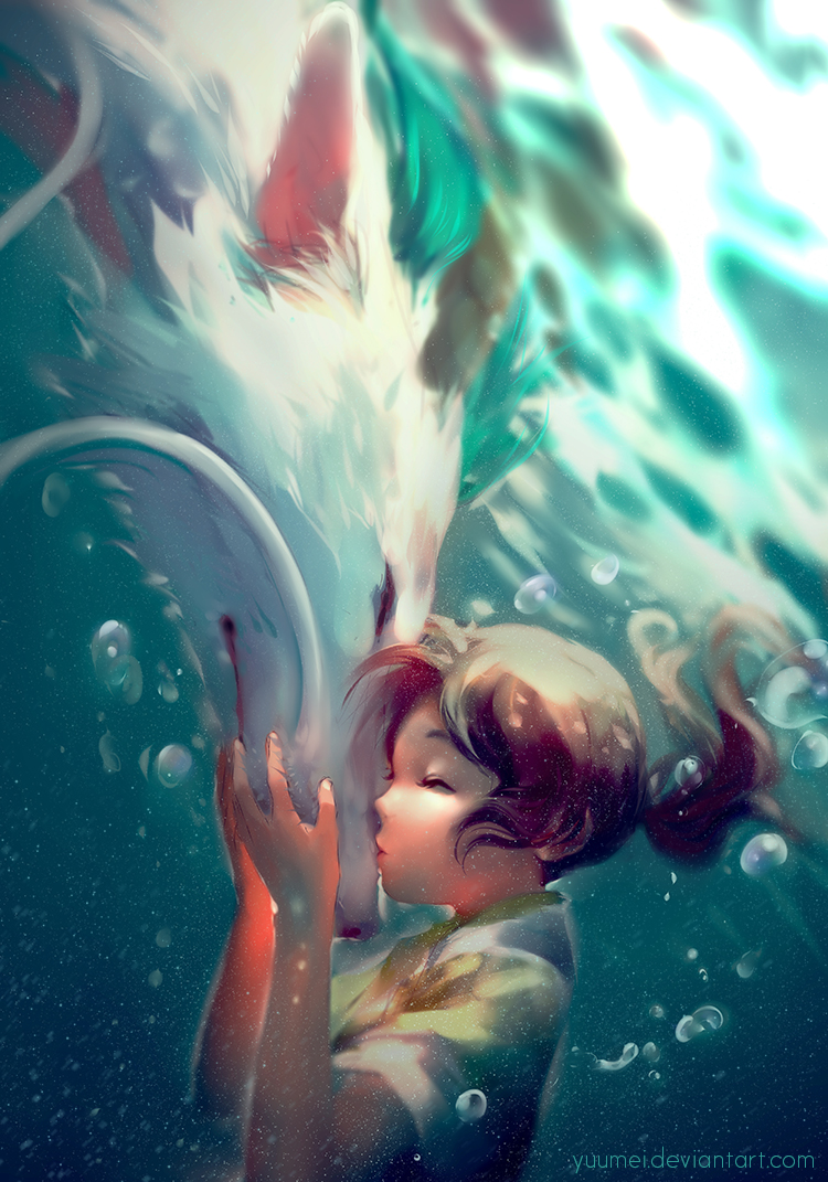 Sen To Chihiro No Kamikakushi Spirited Away Mobile Wallpaper Zerochan Anime Image Board