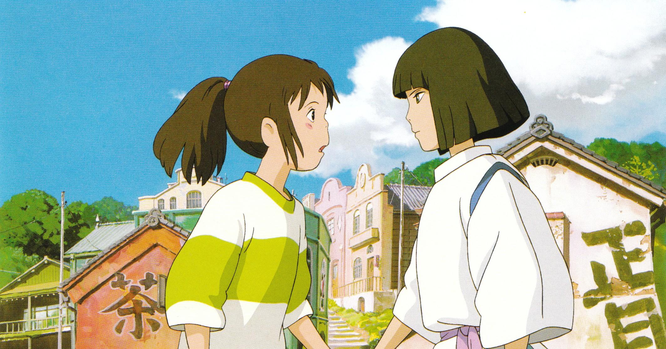 Kết quả hình ảnh cho Sen to Chihiro no Kamikakushi anime