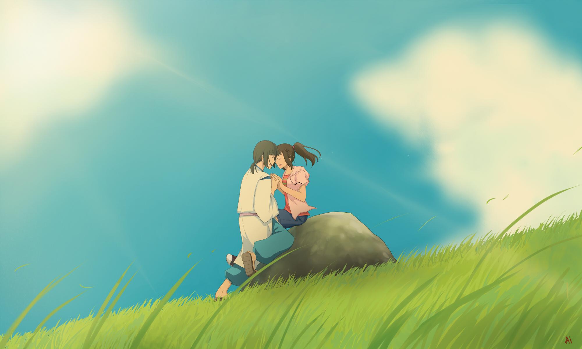 Sen To Chihiro No Kamikakushi Spirited Away Hd Wallpaper 634295 Zerochan Anime Image Board