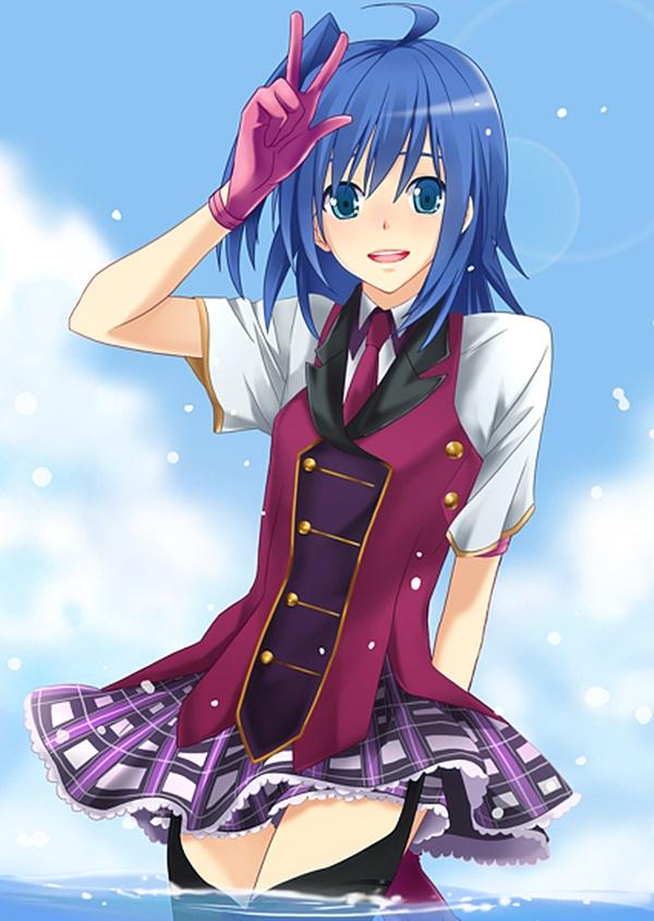 Tags: Anime, Yukki (Pixiv1552978), Cardfight!! Vanguard, Sendou Aichi, Ride (Cardfight!!), Blazer Pleasures (Cosplay), Fanart, Pixiv, Team Q4