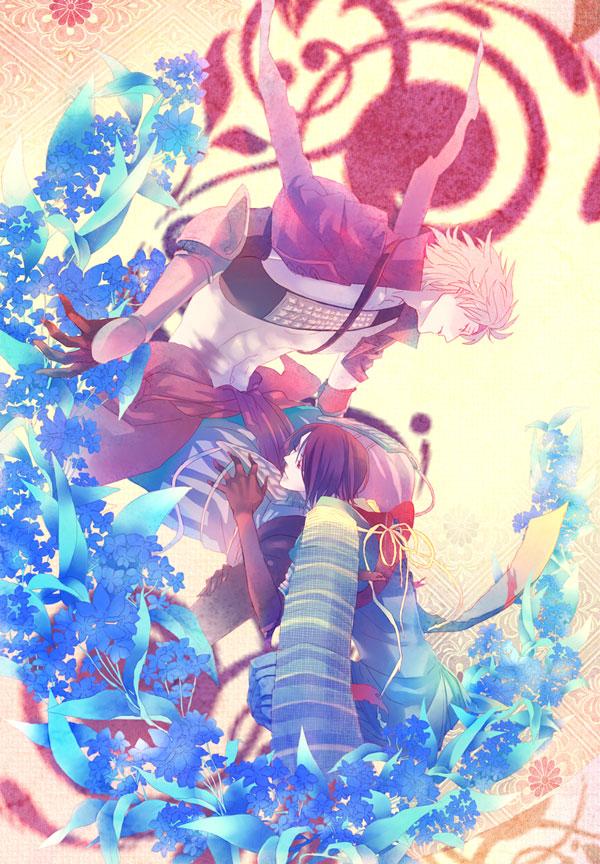 Tags: Anime, Pixiv Id 1552812, Sengoku Basara, Motochika Chosokabe (Sengoku Basara), Mori Motonari (Sengoku Basara), Pixiv, Fanart, Devil Kings