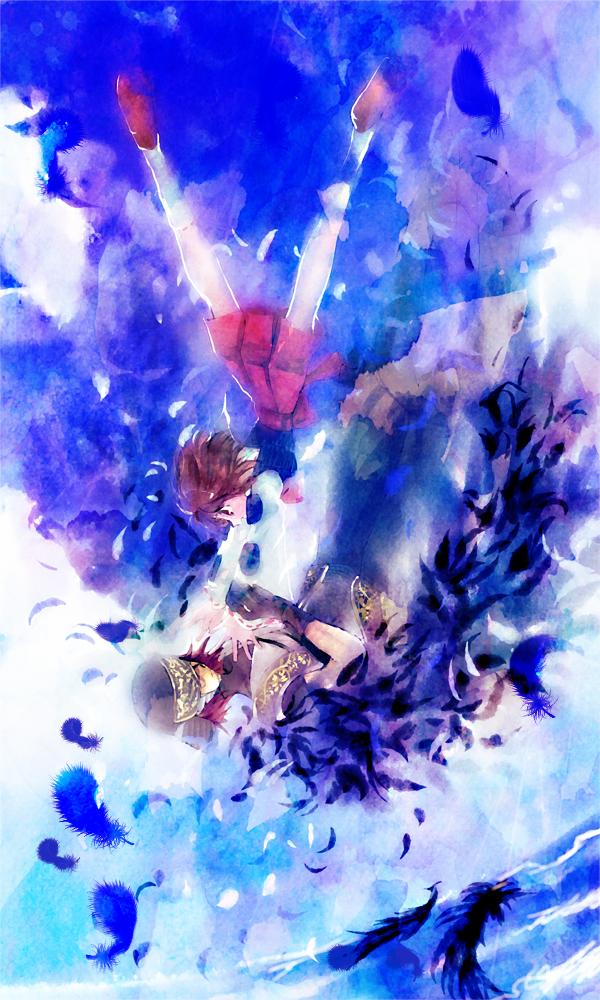 Tags: Anime, Yuraraxxx, Sengoku Basara, Tsuruhime, Fuuma Kotarou (Sengoku Basara), Mobile Wallpaper, Pixiv, Devil Kings