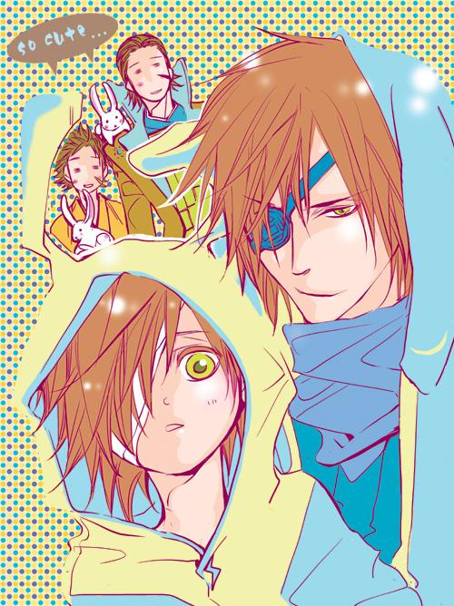 Tags: Anime, Nao (Pixiv 1011422), Sengoku Basara, Katakura Kojuurou (Sengoku Basara), Date Masamune (Sengoku Basara), Pixiv, Devil Kings