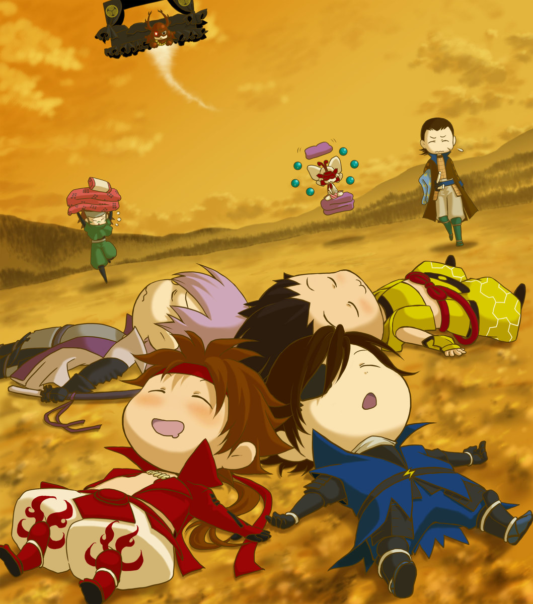 Download Anime Basara: Tokugawa Ieyasu (Sengoku Basara), Fanart