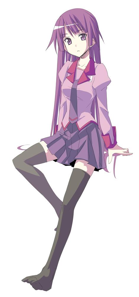 Tags: Anime, Himura Kiseki, Monogatari, Senjougahara Hitagi