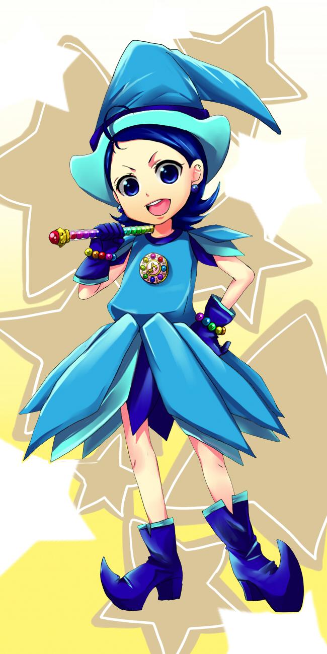 Tags: Anime, Pixiv Id 1466323, Ojamajo DoReMi, Senoo Aiko, Dream Spinner, Puwapuwa Poron, Pixiv, Fanart, Fanart From Pixiv