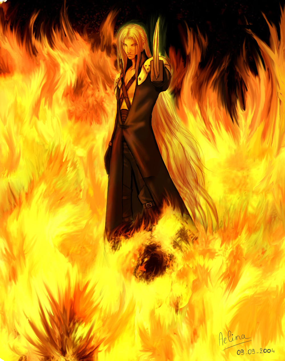 Sephiroth Final Fantasy Vii Image 468219 Zerochan