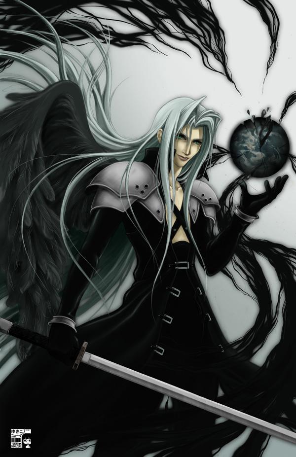 Sephiroth Final Fantasy Vii Mobile Wallpaper 622104