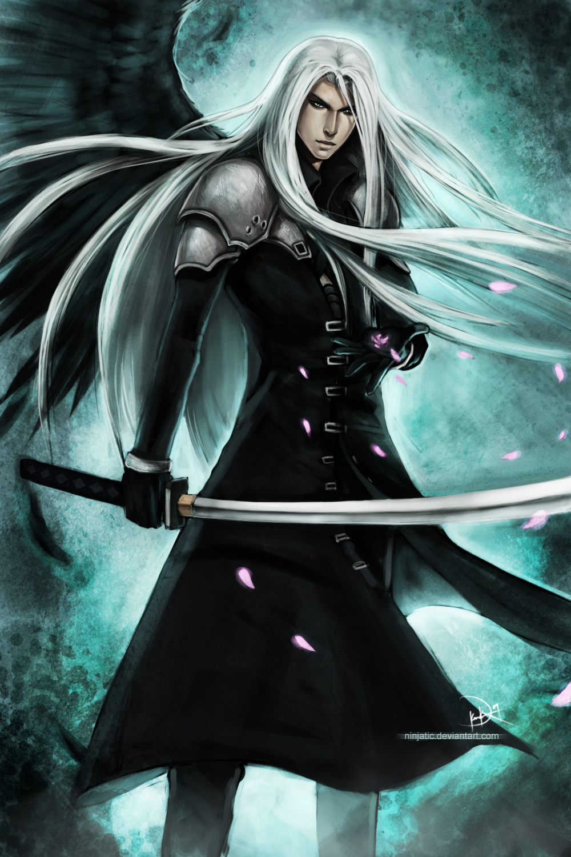 Sephiroth Mobile Wallpaper Page 2 Zerochan Anime Image