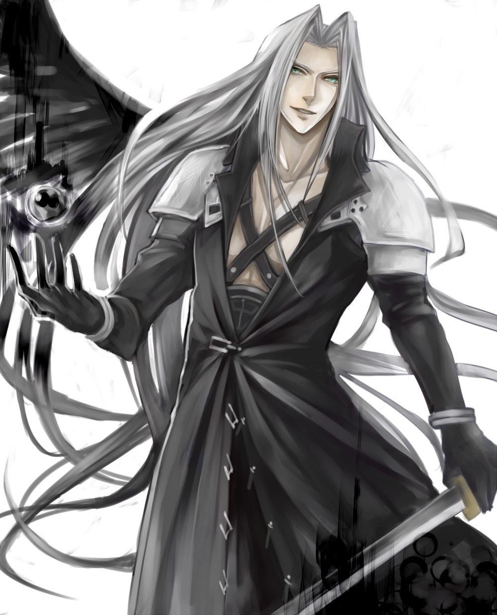 Sephiroth Final Fantasy Vii Image 978013 Zerochan