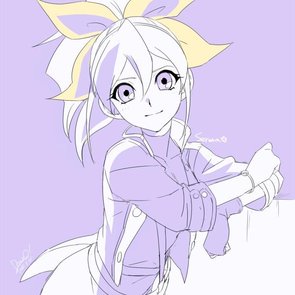 Tags: Anime, Rokuro, Yu-Gi-Oh!, Yu-Gi-Oh! ARC-V, Serena (Yu-Gi-Oh! ARC-V), Pixiv, Fanart, Fanart From Pixiv