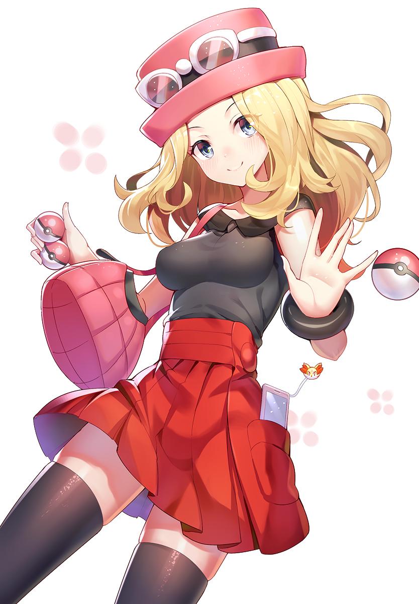 Pokemon serena hot
