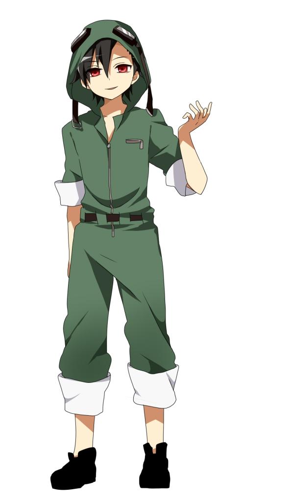 Tags: Anime, Ichinose Yukino, Kagerou Project, Seto Kousuke, Rolled Up Pants, Pixiv, Kousuke Seto