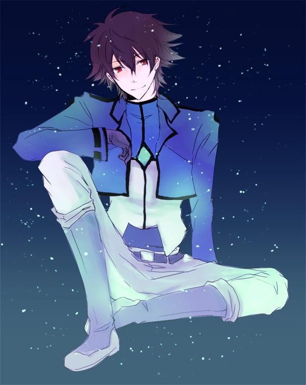 Tags: Anime, Pixiv Id 486648, Mobile Suit Gundam 00, Setsuna F. Seiei, Gundam Meisters