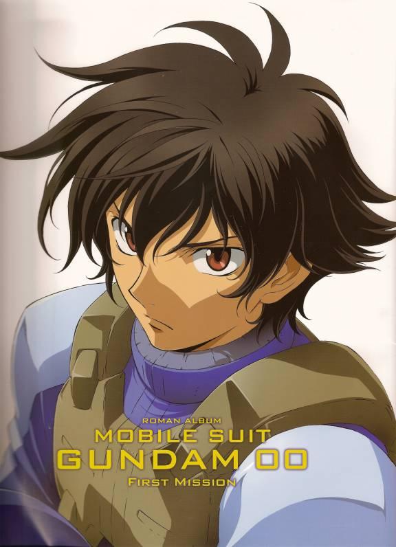 Tags: Anime, Mobile Suit Gundam 00, Setsuna F. Seiei, Space Suit, Official Art, Gundam Meisters