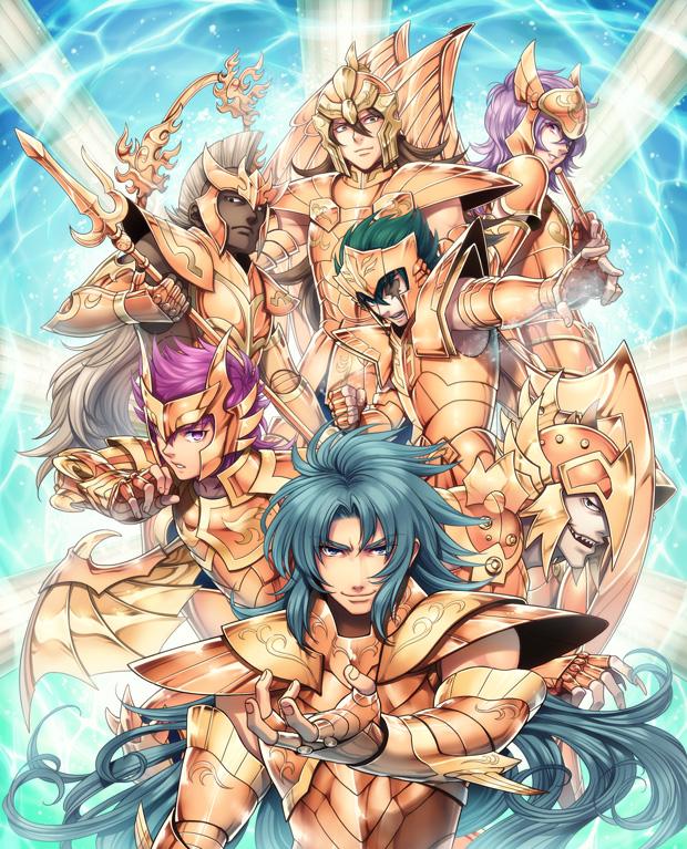Scylla Io Saint Seiya Zerochan Anime Image Board
